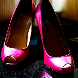 Bright Pink Shoes