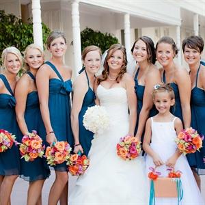 The Bridesmaids' Looks