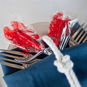 Lobster Place Setting Decor