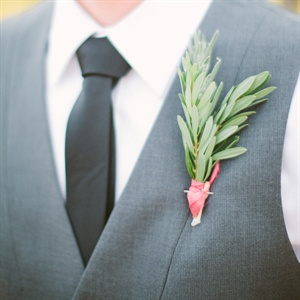 Rosemary Herb Boutonniere