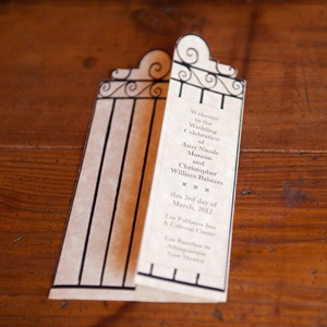 DIY Gate Ceremony Program