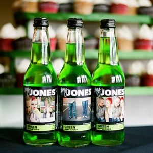 Custom Labeled Jones Soda Favors