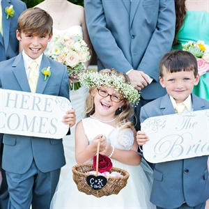 Cute Wedding Children
