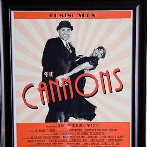 Custom 1920s-style Poster