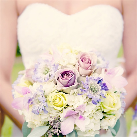 Pale Purple Bouquet