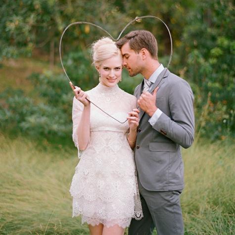 Manuel Mota Lace Wedding Dress