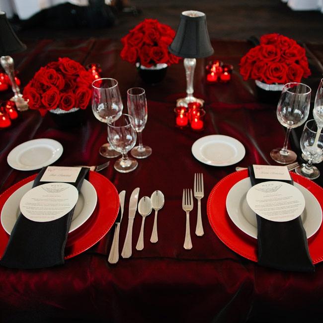 decoración de mesas para San Valentín
