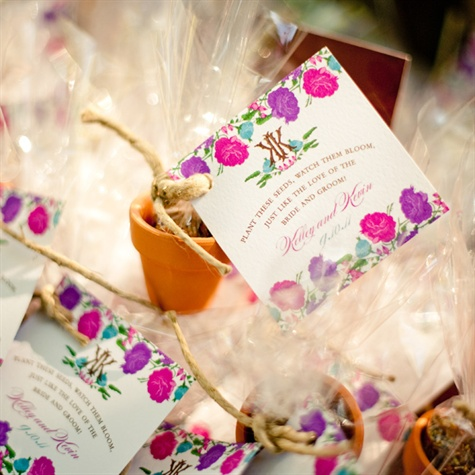 Seed Wedding Favors
