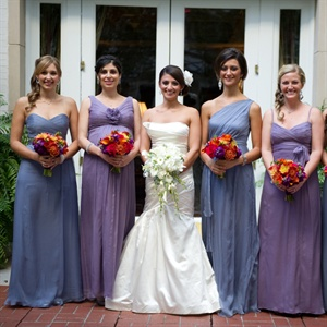 Silk Chiffon Bridesmaid Looks