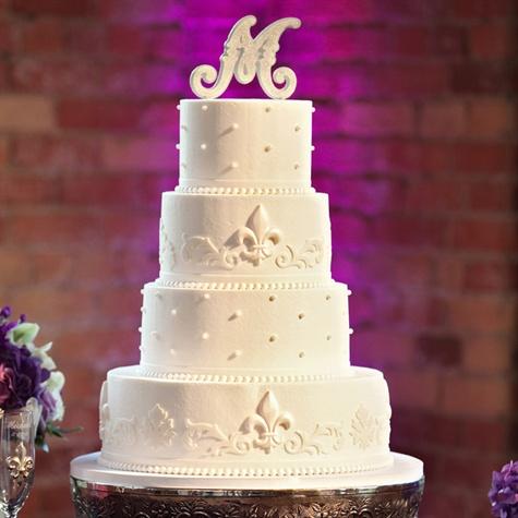 Fleur-de-lis Cake