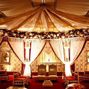 Indian Ceremony Mandap