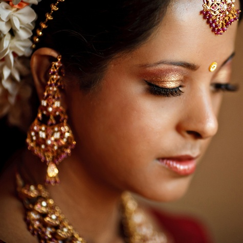 Indian Bridal Makeup and Accessories