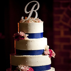 Ribbon-wrapped Cake