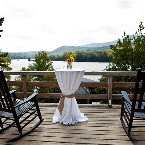 Lakeside Reception Patio