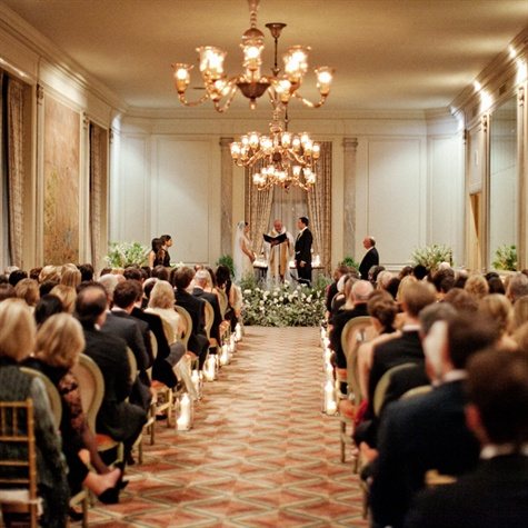 Ceremony at The California Club