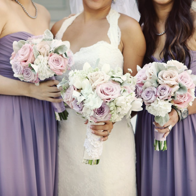 Light Purple Wedding Flowers Gallery For Gt And Pink