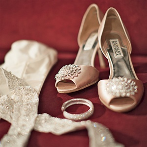 Pink Badgley Mischka Heels