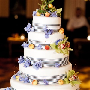 Fruit-decorated Cake