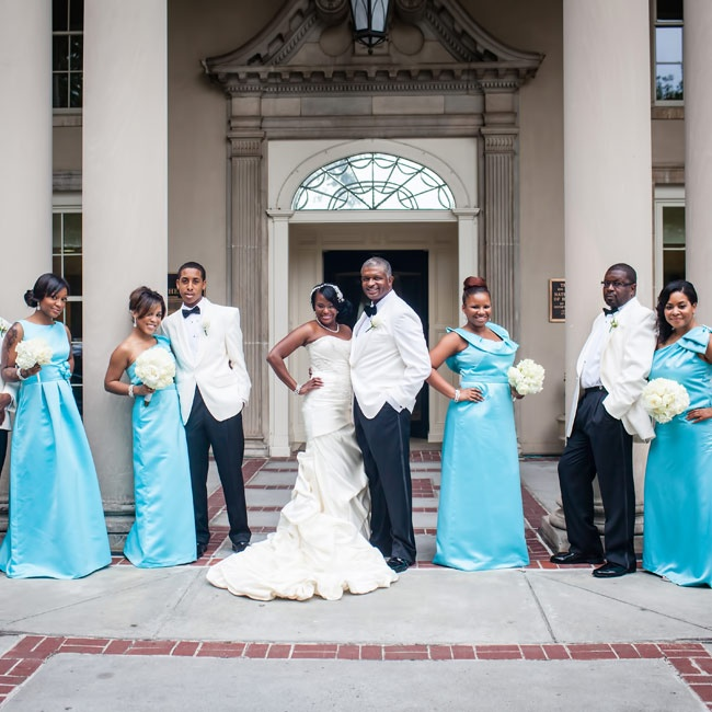 Tiffany Blue And Black Wedding Ideas: Click On Image To Close