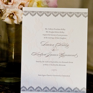 Gray Invitations