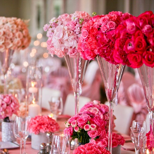 Pink Wedding Centerpiece Ideas: 301 Moved Permanently