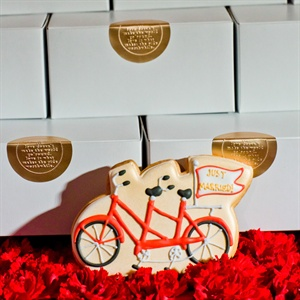 Bicycle Cookie Favor