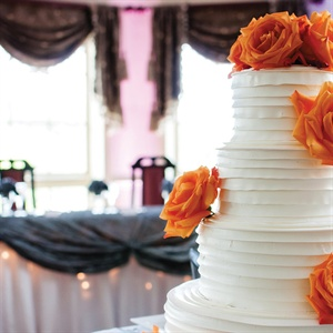 Modern Ruffled Cake