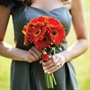 Gerbera Daisy Bridesmaid Bouquet