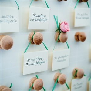 Calligraphed Escort Cards