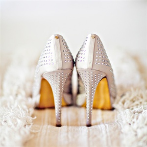 Rhinestone-Studded Stilettos