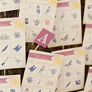 Whimsical Escort Cards