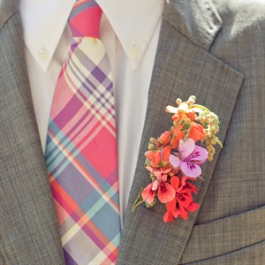 Multicolored Boutonniere