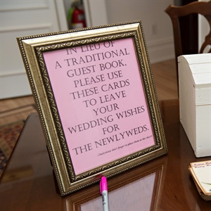 Nontraditional Guest Book