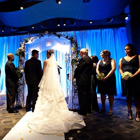 Adventure Aquarium Wedding Ceremony