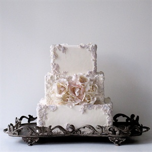 Framed Rose Cake