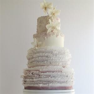 Blush Frills Cake