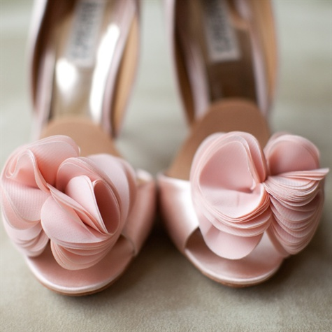 Light Pink Badgley Mischka Shoes