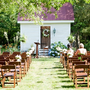 Rustic Garden Reception Site