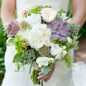 Rustic White Bouquet