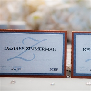 Copper Place Cards