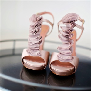 Blush Colored Bridal Shoes