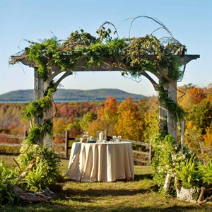 Outdoor Autumn Ceremony