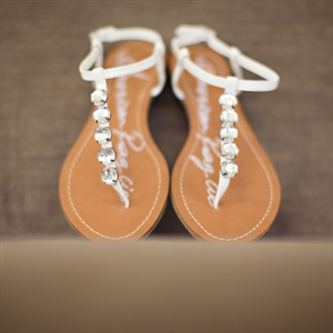 Jeweled Bridal Sandals