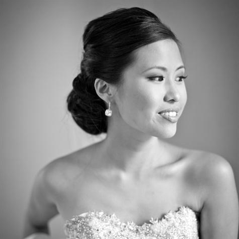 Classic Bridal Chignon