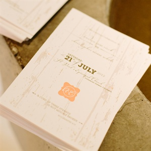 The Wedding Programs