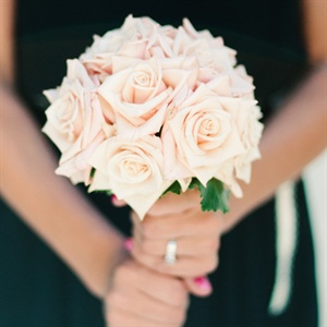 Sahara Rose Bridesmaid Bouquets