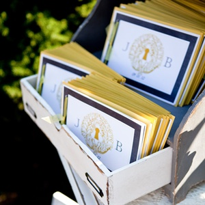 Yellow and Blue Ceremony Programs