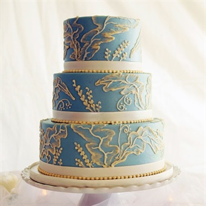 Wedgewood Inspired Cake