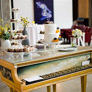 Harpsichord Dessert Display