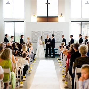 Art Gallery Wedding Ceremony